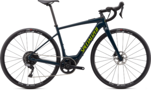 Specialized Turbo Creo SL Comp E5 Gloss Cast Blue/Gloss Black/Hyper Green XL